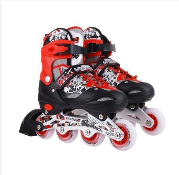 Phân phối Giày trượt Patin Long Feng 906 - Xanh, Đỏ, Hồng, Đen - KHUYẾN MẠI BỘ BẢO VỆ ĐẦY ĐỦ