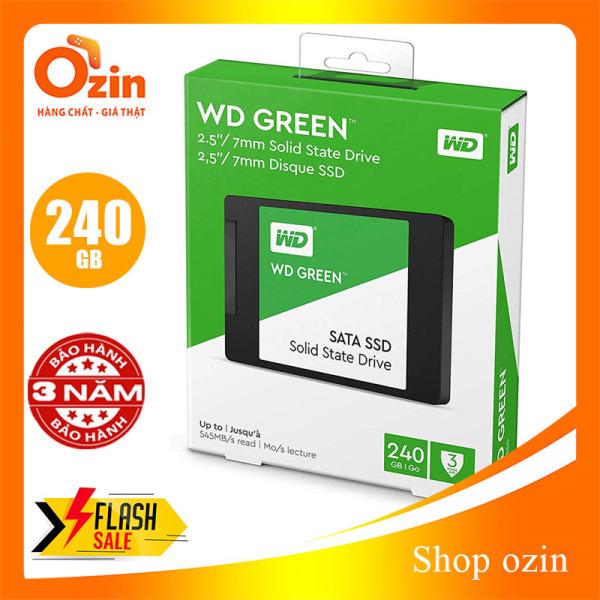 Bảng giá Ổ cứng SSD Western Digital Green 240GB SATA III 2.5 - WDGR 240 Phong Vũ