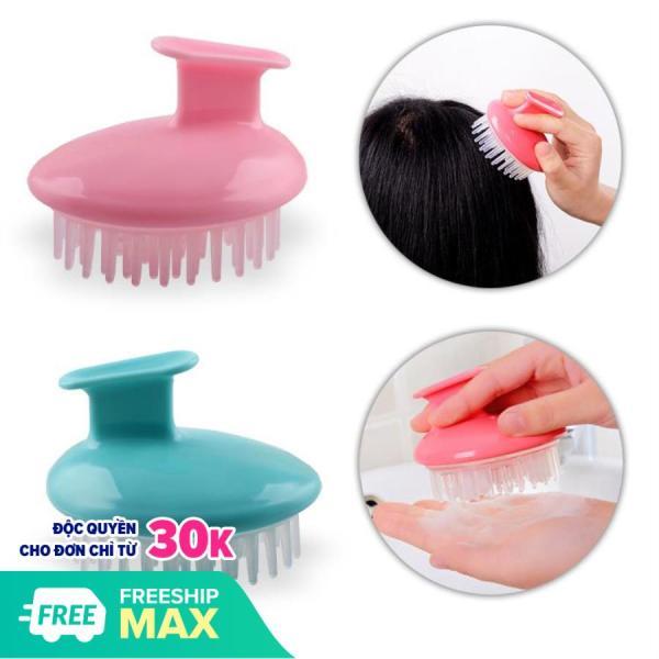 Phụ kiện chăm sóc tóc - Lược dầu gội đầu massage, lược làm sạch da đầu tiện lợi kiêm massage da đầu hiệu quả