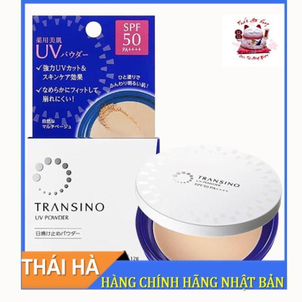 Phấn Nền Transino UV Powder SPF50 PA++++ 12g Nhật Bản giá rẻ