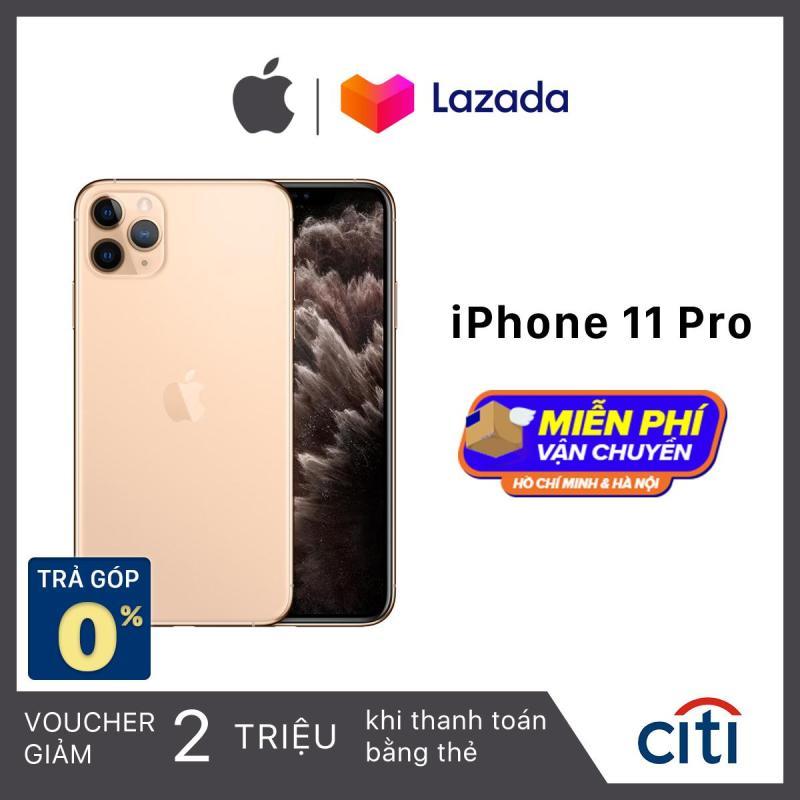 Điện thoại Apple iPhone 11 Pro - Hàng Chính Hãng VN/A - Màn Hình Super Retina XDR 5.8inch, Face ID, Chống nước, Chip A13, 3 Camera, Đi Kèm Sạc Nhanh 18W