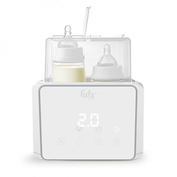 Máy hâm sữa tiệt trùng điện tử Fatz Baby Duo 3 FB3093VN, giá đỡ ngăn cách đế đun nóng, tiện lợi khi nhấc bình sữa ra khỏi máy, tự động tắt sau khi hết nước