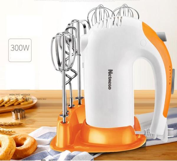 Bảng giá Máy đánh trứng, máy đánh trứng cầm tay,Máy đánh trứng cầm tay đa năng Netmego N38D 300W, máy nhào bột, máy trộn thực phẩm, máy khỏe, 5 tốc độ, dễ sử dụng và vệ sinh Điện máy Pico