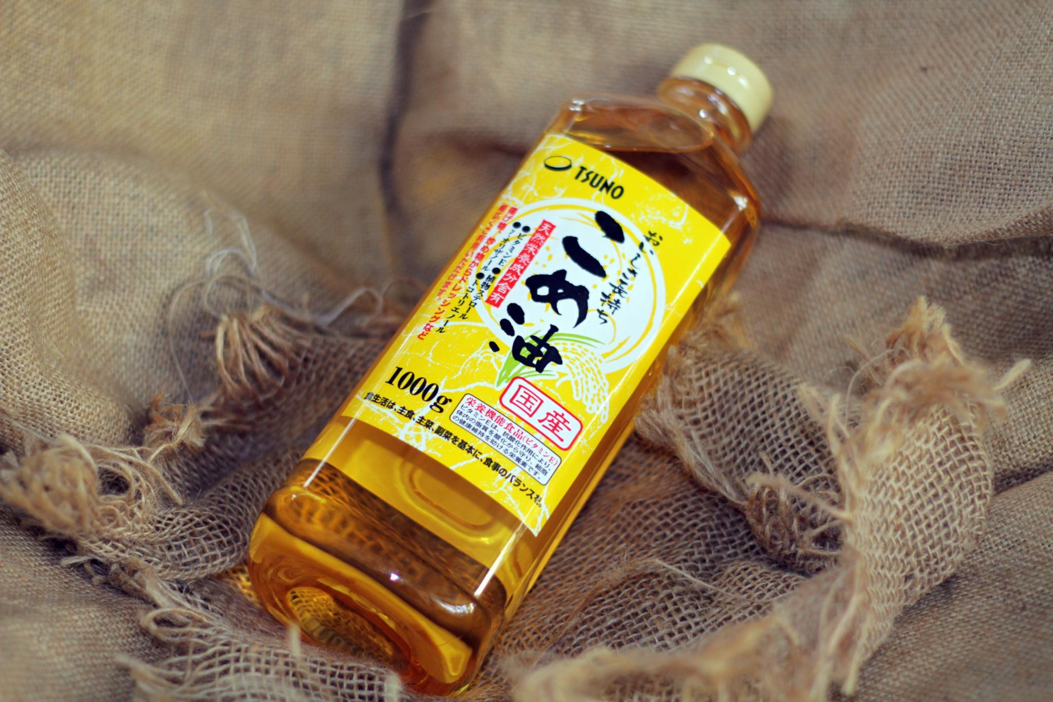Dầu gạo cao cấp Tsuno Nhật Bản 1000gr nội địa Nhật Bản - JStore