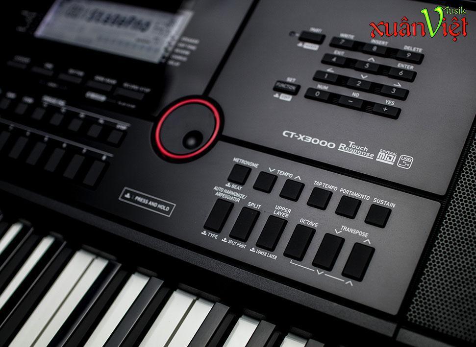 Giá Ưu Đãi Hôm Nay Để Có Ngay Đàn Organ Casio CT-X3000