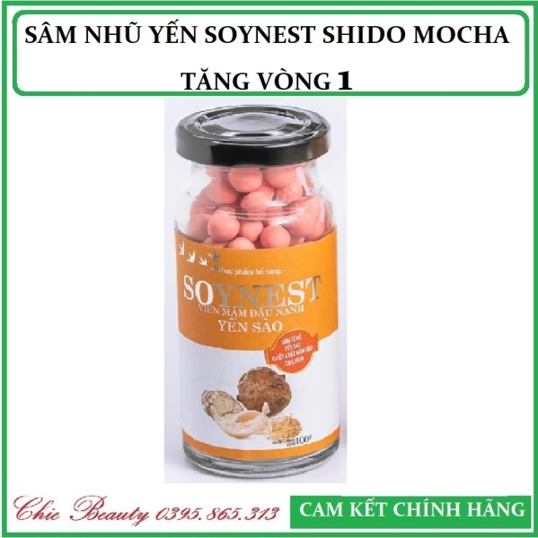 SÂM NHŨ YẾN SOYNEST SHIDO MOCHA - TĂNG VÒNG 1 - Hàng chính hãng
