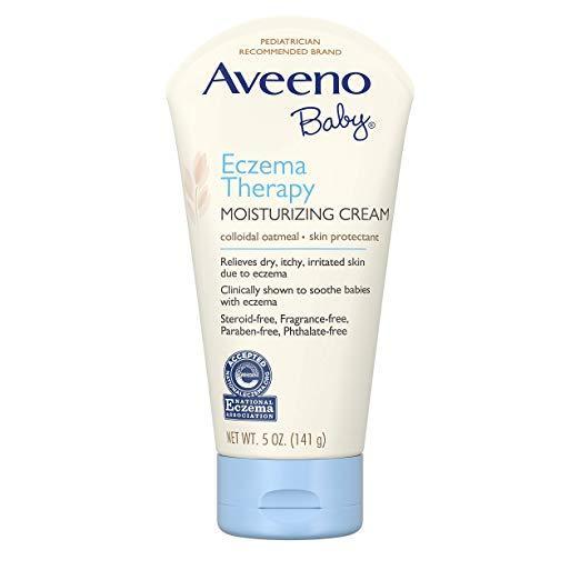 Kem trị chàm  Aveeno Baby Eczema Therapy Moisturizing Cream 141g tốt nhất