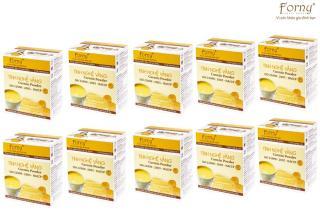 10 Hộp Tinh nghệ vàng Forny 50g - Hộp giấy 10 gói 5g (Đặc biệt phù hợp với người viêm loét dạ dày, phụ nữ sau sinh hồi phục sức khỏe và sắc đẹp, người sử dụng rượu bia thường xuyên, tốt cho hệ tiêu hóa) (tinh bột nghệ) (Tinh bột nghệ nguyên chất) thumbnail