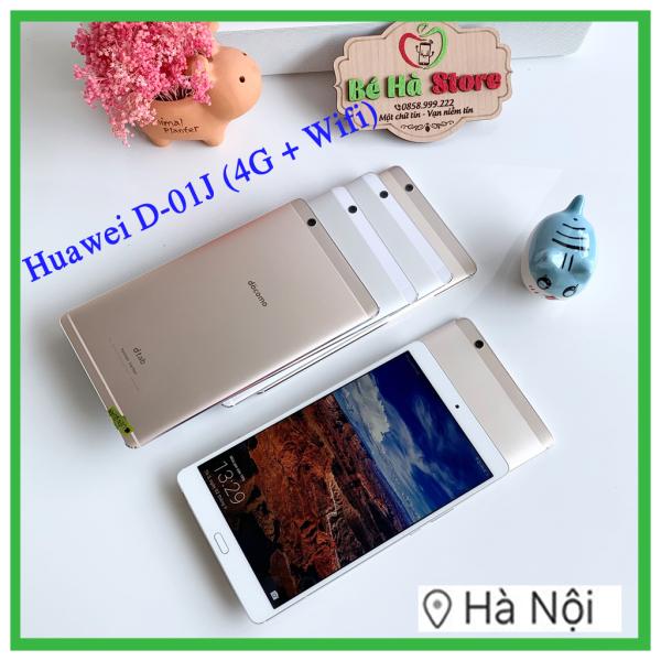 Máy tính bảng Huawei MediaPad M3 8.4inch (D-01J) Bản 4G + Wifi 16Gb - Đẹp Như Mới – Màn hình 2K/ ram 3G/ Vân tay/ LTE/ Loa Harman Kardon