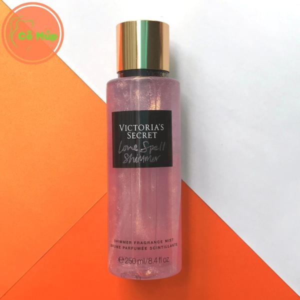 Xịt Thơm Toàn Thân Victorias Secret Love Spell Shimmer 250ml - Hàng USA