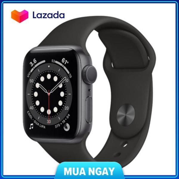 Đồng Hồ Apple Watch Series 6 Size 40mm - Dây Cao Su Xanh Navy Gps (Mg143) - Bảo hành 12 tháng