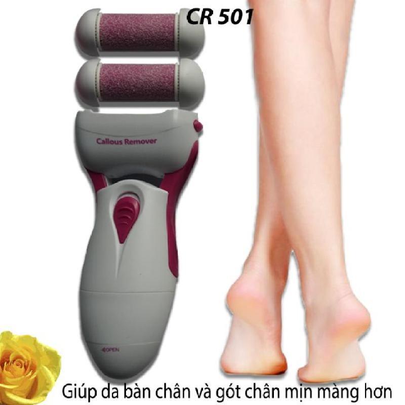 Máy chà gót chân dùng pin CR-501 cao cấp