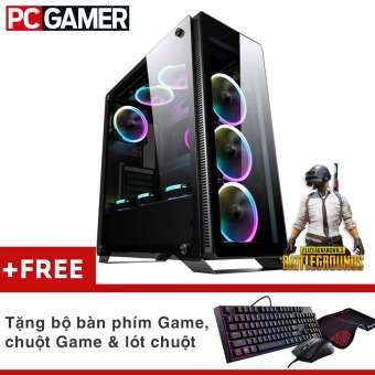 máy tính chơi game core i5-4570, ram 8gb, ssd 120gb, hdd 500gb, rx580 4gb + quà tặng