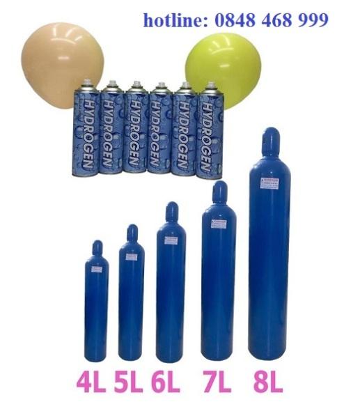 bình khí Hydro mini tinh khiết combo 10 bình