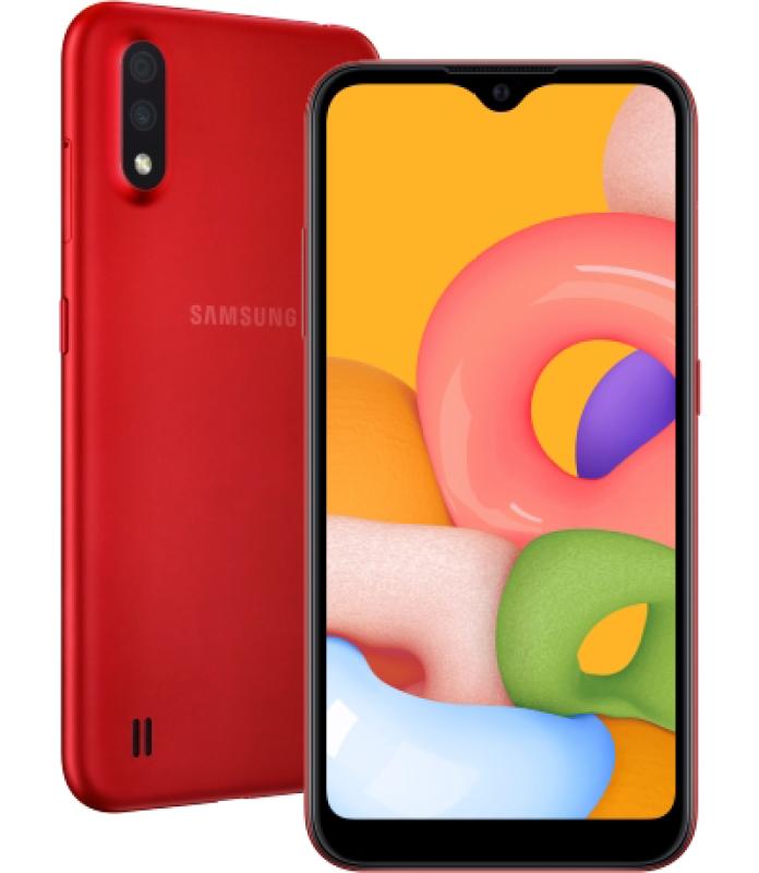 Điện thoại Samsung Galaxy A01 nguyên seal chưa kích hoạt bảo hành chính hãng toàn quốc 12 tháng