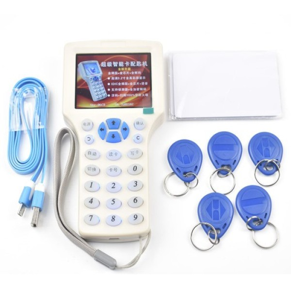 Máy SAO CHÉP thẻ từ RFID ID Đa tần số, máy COPY thẻ từ THANG MÁY