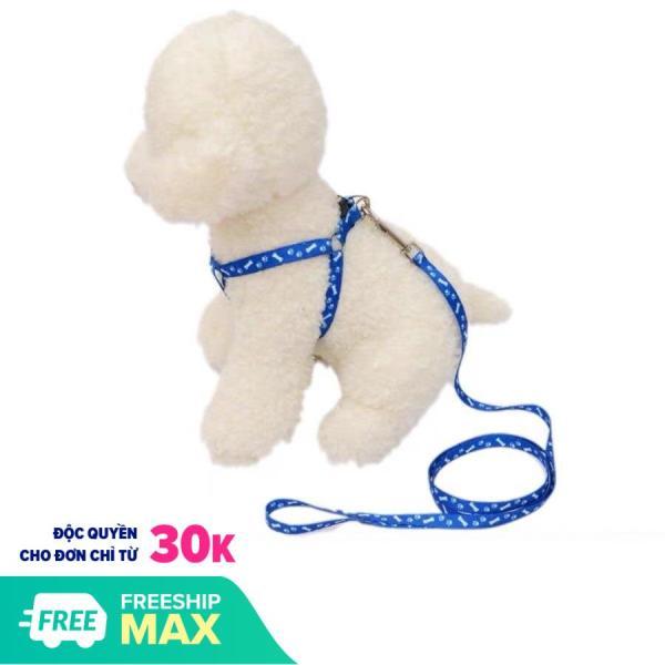 HN- Dây dắt chó mèo (2 size) bản mỏng 1 lớp -Dâyyếm đai yên ngựa nhỏ xinh cho chó mèo nhỏ /Dâydắt chó đi dạo
