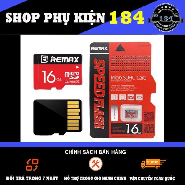 Thẻ Nhớ Micro Sd Remax 16Gb Class 10 (Đỏ) - Bảo Hành 01 Năm