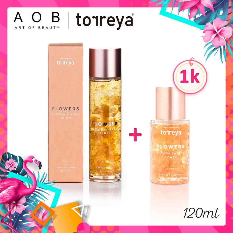 Nước Hoa Hồng Torreya Flower Energy Toner giá rẻ