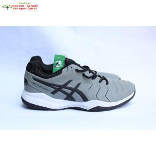 Giày Tennis Asics Xám Giày Đánh Tennis thumbnail