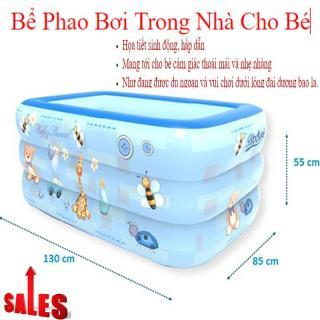 Phao tắm cho bé Bể bơi phao trong nhà làm từ chất liệu nhựa PVC an toàn, họa tiết sinh động, món quà tuyệt vời cho bé yêu, Giảm giá sốc 50% Mã SP 24 thumbnail