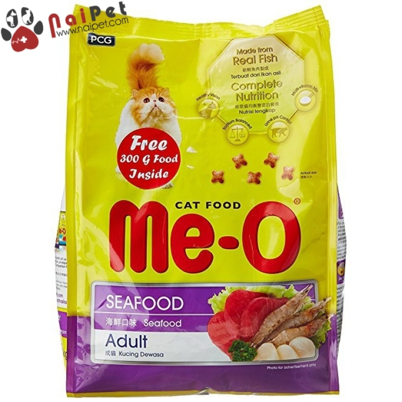 Thức Ăn Hạt Khô Cho Mèo Me-O