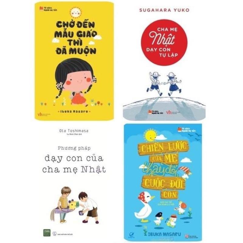 Combo Sách Nuôi Dạy Con Kiểu Nhật Bản (4 cuốn)