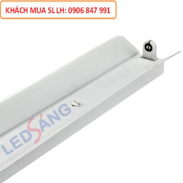 Máng đèn LED - Máng chóa đèn đơn T8 1m2 - LS - C1 - 120