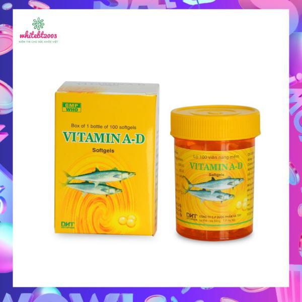 Viên uống Vitamin A-D Chai 100 viên