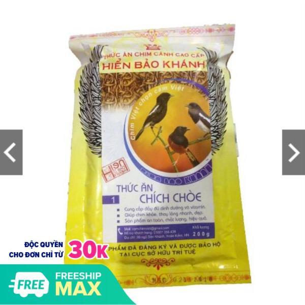 Cám Hiển Bảo Khánh Chích Chòe Dưỡng - Thay Lông (Số 1) 200g - Thức Ăn Chim Cao Cấp