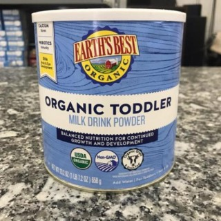 Sữa Earth s Best Toddler Organic 658g thumbnail