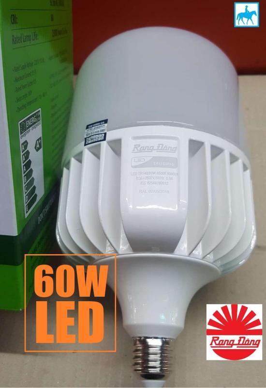 Bóng đèn Rạng Đông 60W LED Bulb trụ E27 Chip Led Samsung