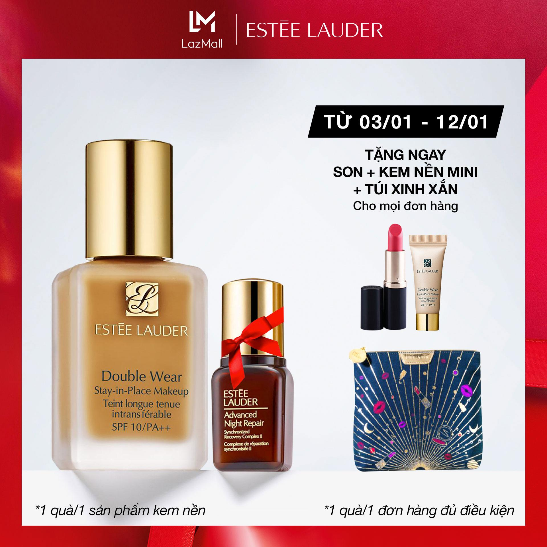 Kem nền lâu trôi Estee Lauder Double Wear Stay-in-Place Makeup SPF 10 - Foundation 30ml cao cấp