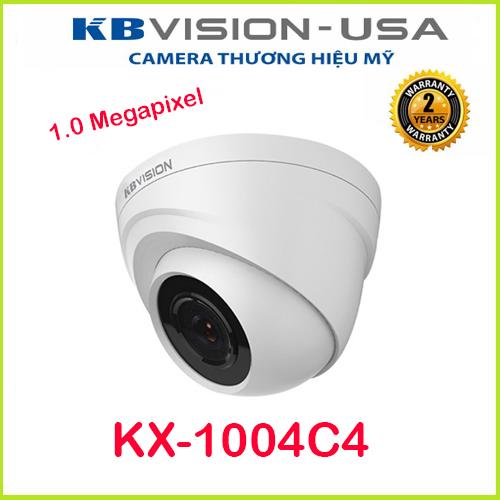 Camera Dome HDCVI hồng ngoại 1.0 Megapixel KBVISION KX-A1004C4