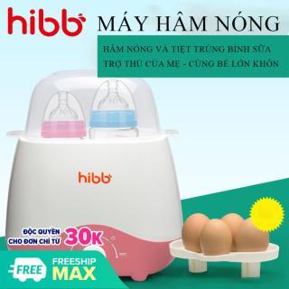 Máy hâm sữa và tiệt trùng bình sữa HIBB đa năng Tiệt trùng bình sữa, hâm sữa, hâm thức ăn, luộc trứng sử dụng cùng lúc 2 bình - Thiết kế nhỏ gọn, an toàn và tiện dụng cho mẹ và bé. BẢO HÀNH 2 NĂM ĐỔI MỚI 1-1 TRONG 7 NGÀY NẾU thumbnail