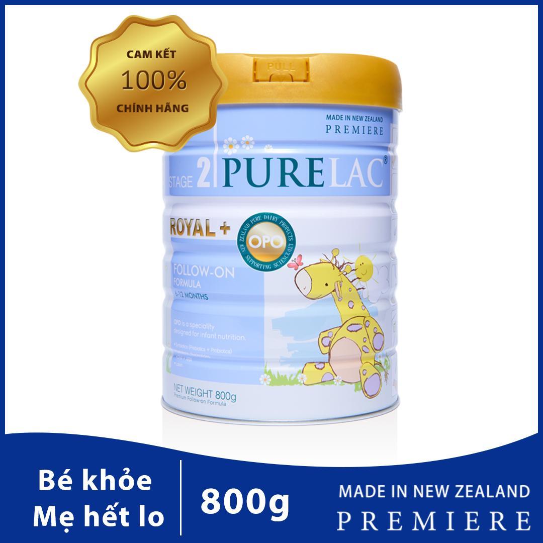 Sữa PureLac nhập khẩu New Zealand cho trẻ 6-12 tháng