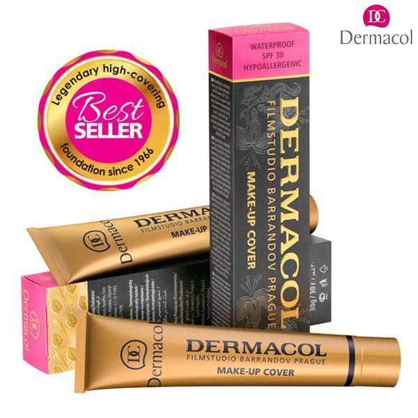 Kem Nền Che Khuyết Điểm, Che Hình Xăm Dermacol Make-Up Cover 30g tốt nhất
