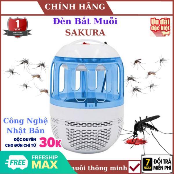 ( Tặng Vòng Tỳ Hưu ), Đèn bắt muỗi SAKURA công nghệ nhật bản- độc quyền phân phối , đồ bắt muỗi , đèn bắt muỗi thông minh , diệt muỗi ,diệt côn trùng , đèn bắt muỗi thông minh , đèn bắt muỗi sạc , vợt muỗi