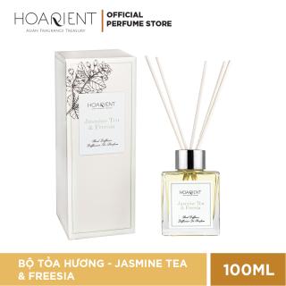 Bộ Khuếch tán mùi hương que mây Hoarient - Jasmine Tea & Freesia 100ml