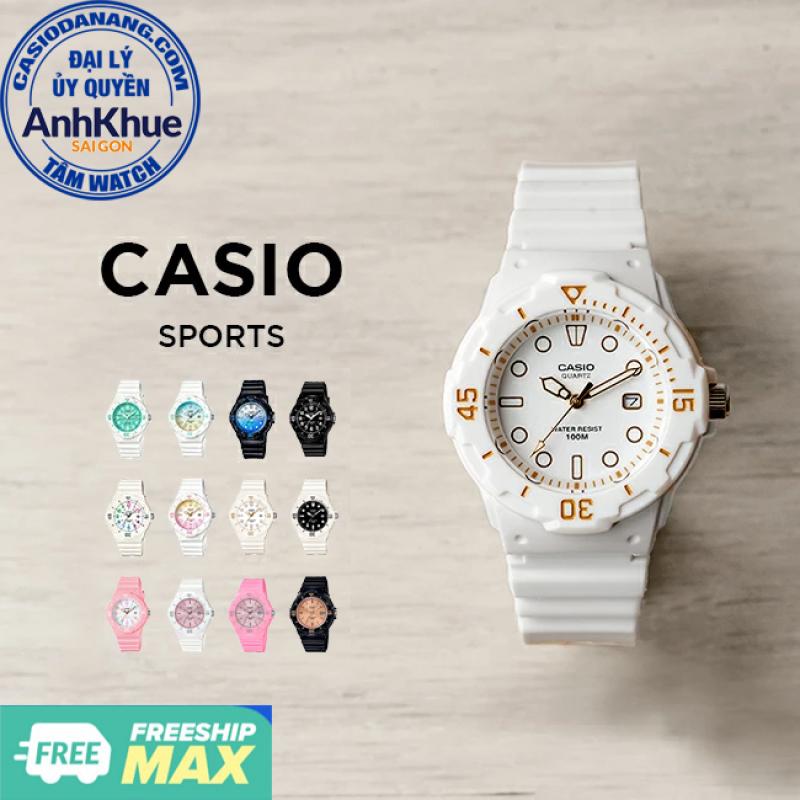 Đồng hồ nữ dây nhựa Casio Standard chính hãng Anh Khuê LRW-200 Series (34mm)
