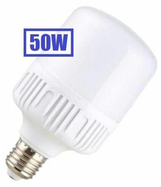 [HCM]Bóng đèn 50W LED Bulb trụ 220V E27 Siêu sáng Tiết kiệm điện