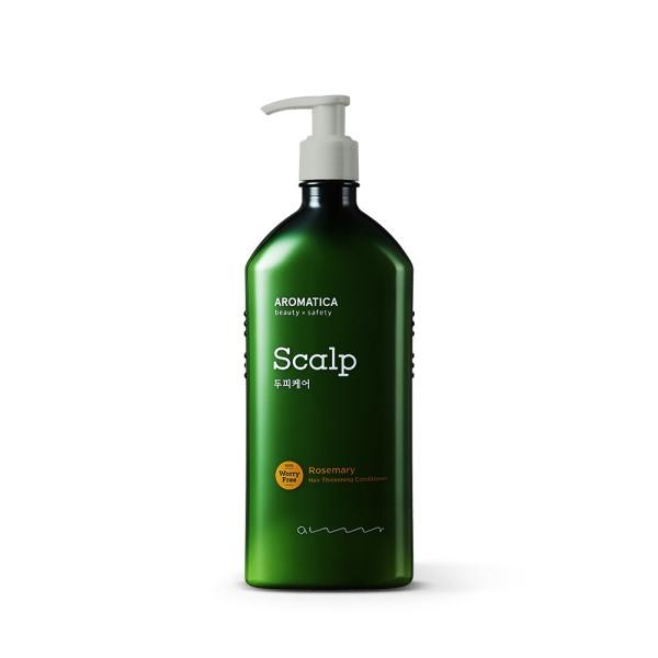 Dầu Xả Tóc Aromatica tinh chất Hương Thảo Rosemary Hair Thickening Conditioner - Dầu xả làm dịu da đầu nhạy cảm tốt nhất