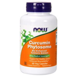 Thực phẩm bảo vệ sức khỏe hỗ trợ điều trị dạ dày, đại tràng Cucurmin Phytosome sản phẩm cao cấp hãng Now foods USA thumbnail
