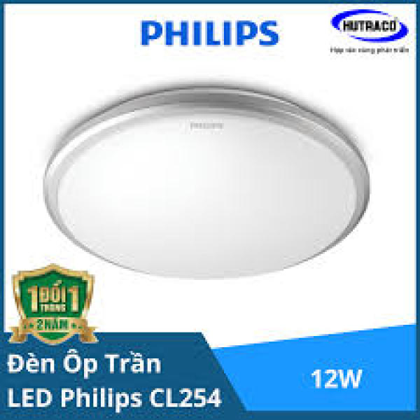 ĐÈN LED ỐP NỔI CL254 -12W -6500K -PHILIPS