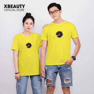 Áo thun nữ đẹp XBeauty J26 áo phông nữ vải Cotton 100% cao cấp. Có 5 màu (Đen Đỏ Hồng Trắng Vàng). Áo thun thời trang Nữ cá tính sang trọng thumbnail