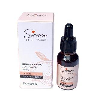 Combo 2 Serum dưỡng môi Sirum 15ml dưỡng ẩm môi trong 5 giây giúp môi hồng hào, giảm thâm môi, cho lớp son đẹp và bền màu hơn thumbnail