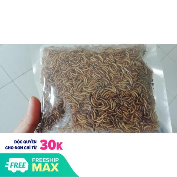 Sâu sấy khô hamster cung cấp đầy đủ dinh dưỡng giúp mượt lông và tăng năng lượng hoạt động sử dụng lâu dài