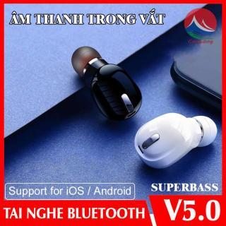 Tai Nghe Bluetooth X9 Không Dây 5.0, Phiên Bản Nhét Tai Mini, Công Nghệ Khử Ồn Cho Cuộc Gọi Chân Thật, Nghe Nhạc Âm Thanh Vòm 6D Với Tăng Cường Âm Bass, tai nghe bluetooth không dây kết nối mọi loại điện thoại IPHONE SONY SAMSUNG XIAOMI, Cuulongstore thumbnail