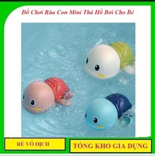 Đồ Chơi Rùa Con Mini Thả Hồ Bơi Cho Bé Chạy Dây Cót - An Toàn Cho Bé thumbnail