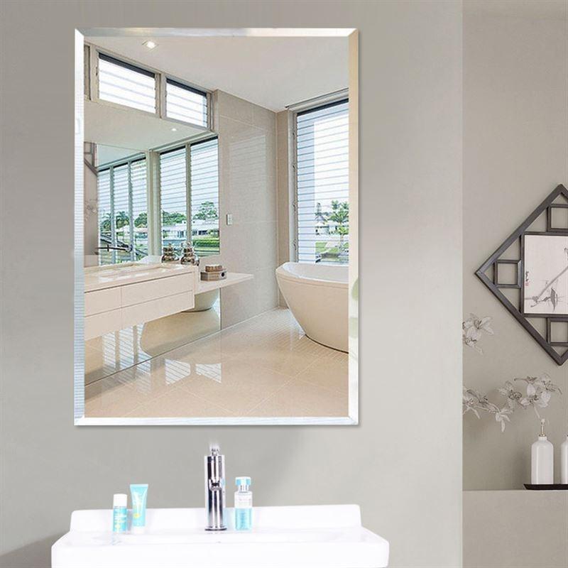 Gương phòng tắm cao cấp 35x50cm Vuông
